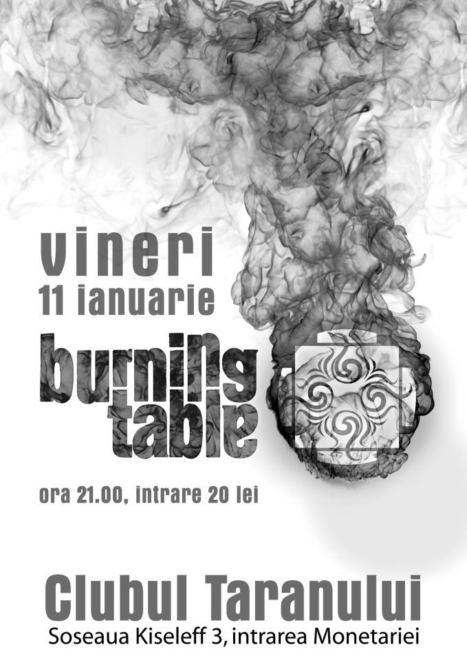 images_burning table afis bucuresti