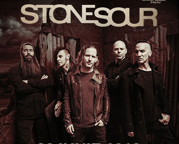 Afis Stone Sour concert
