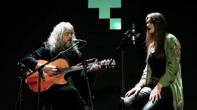 Troy Donockley, Floor Jansen (Nightwish)