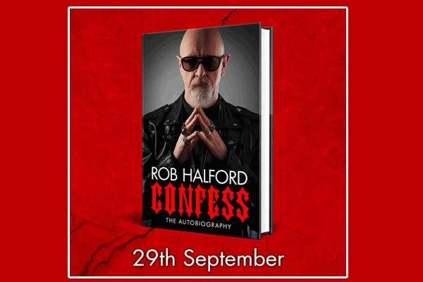 """Rob Halford """"Confess"""""""