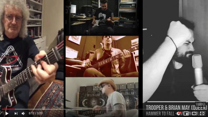 Brian May - Trooper (captura video)