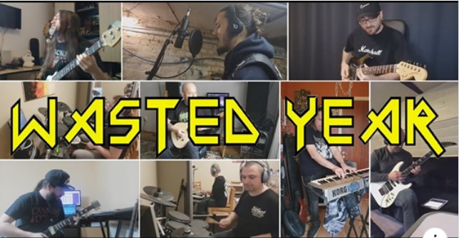Wasted Year – Iron Maiden