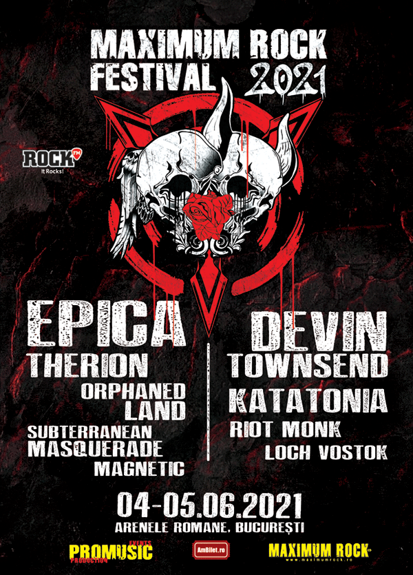 Afis Maximum Rock Festival 2021